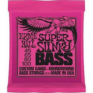 ENCORD. ERNIE BALL P/ BAIXO 4 CORDAS 045-100 S.SLINKY 2834