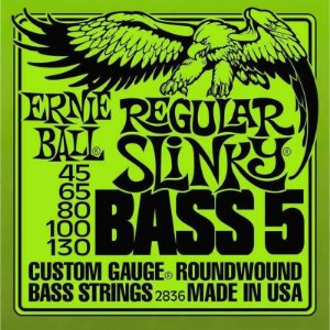 ENCORD. ERNIE BALL P/ BAIXO 5 CORDAS 045-130 2836 (IZZO)