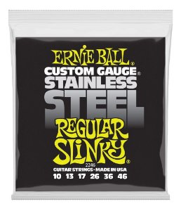 ENCORDOAMENTO CORDA ERNIE BALL GUITARRA 010 STEEL 2246