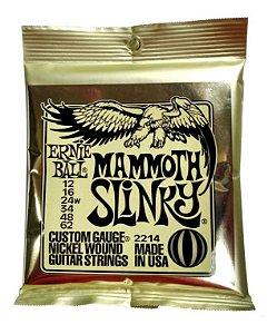 ENCORDOAMENTO CORDA ERNIE BALL GUITARRA 012 MAMMOTH 2214