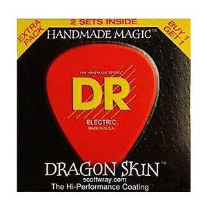 ENCORD.DR DRAGON SKIN GUITARRA 011 PCT C/ 2 DSE2-11