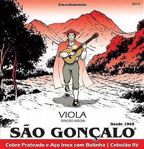 ENCORD. SAO GONCALO CORDA P/VIOLA CAIPIRA C/BOLINHA 0137