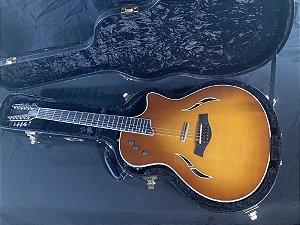Violao Taylor Aco T5 - Sunberst - 12 Cordas
