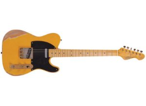 GUITARRA VINTAGE TELECASTER ICON V52MR RELIC - BS
