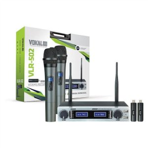 MICROFONE VOKAL S/FIO VLR502