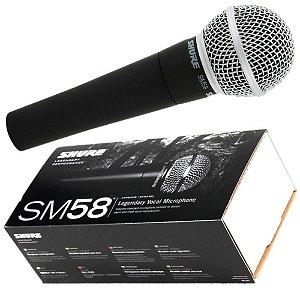 MICROFONE SHURE VOCAL SM58-LC