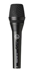 Microfone Akg Perception P3s Voz E Violão Com Fio