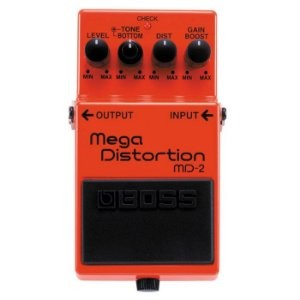 Pedal Boss Mega Distortion Md-2 Com Garantia E Nota Fiscal