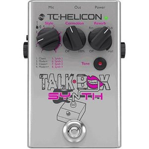 Pedal Tc Helicon Talkbox Synth 2 Anos De Garantia
