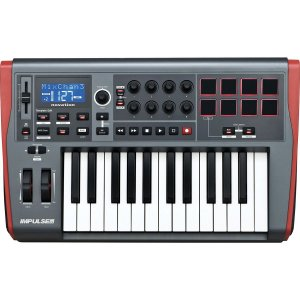 TECLADO CONTROLADOR MIDI IMPULSE 25