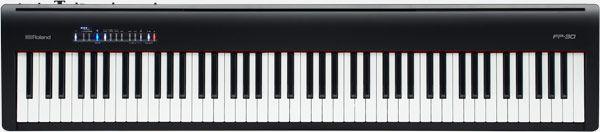 PIANO ROLAND DIGITAL FP 30 BK