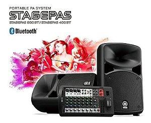 Sistema Som YAMAHA Stagepas portatil bluetooth 680w