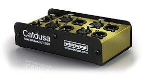 Medusa Whirlwind CATDUSA entrada RJ45 / saida XLR
