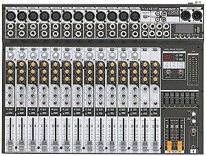 Mesa Som Soundcraft Sx1602 Fx - Usb - 16 canais
