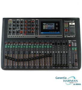 Mesa Som Soundcraft Si Impact 32 Canais Digital