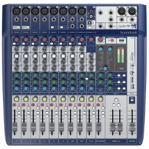 Mesa Som Soundcraft Signature 12 Canais - Mixer