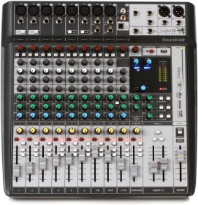 Mesa De Som Soundcraft  Signature 12mtk
