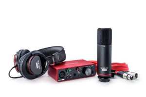Kit Interface de Audio Focusrite Solo Studio  Mi - 3 geracao