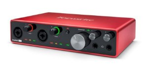 Interface De Audio Scarlett 8i6 Focusrite 3º Geração Usb