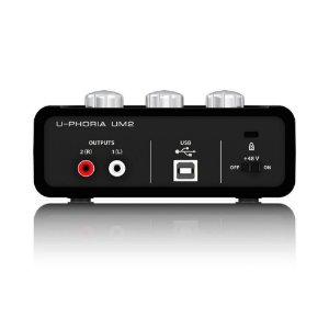 Interface De Audio Behringer Um 2 Uphoria - P/ Gravacao