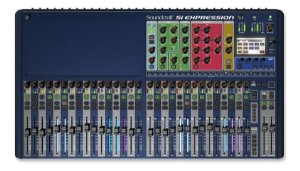 Mesa Som Soundcraft  Si Expression 3 - 32 Canais