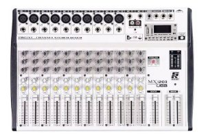 MESA DE SOM STANER 12 CANAIS MX-1203 - USB