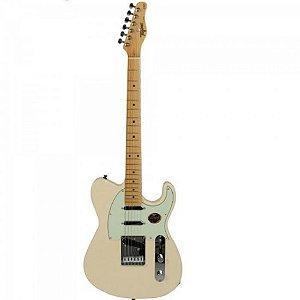 Guitarra Tagima Eletrica T-900 Brasil  WV C/MG (WV (Branco Vintage)