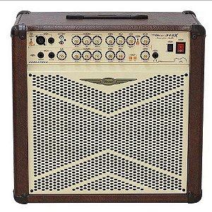 Amplificador (cubo) Oneal Violao Ocv312 - Marrom 80 W