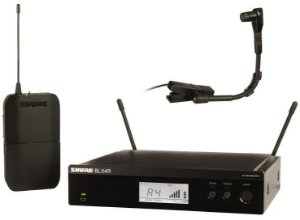 Microfone Shure Sistema S/fio Blx14r com mic beta 98 Br M15