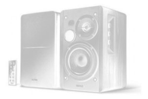 Monitor de Audio R1280DB Bluetooth 42W RMS EDIFIER - Preta