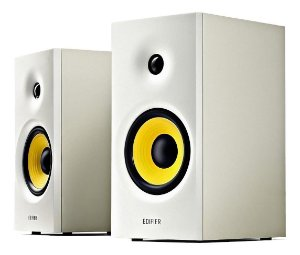 Monitor Referencia Edifier Caixa Som R 1080 Bluetooth Branco