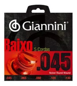 ENCORDOAMENTO P/ BAIXO GIANNINI Geebrs5 Pesado 0.045