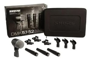 KIT MICROFONES SHURE Dmk5752 / 3 Pcs Sm57 1 Pc Beta 52