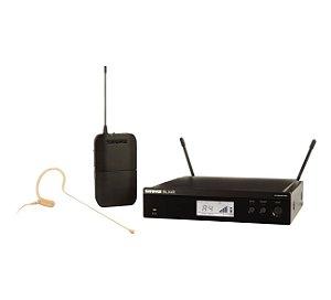MICROFONE SEM FIO SHURE BLX HEADSET BLX14RBR/MX53 J10