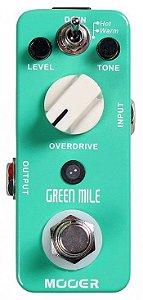 Pedal De Guitarra Mooer Green Mile Overdrive