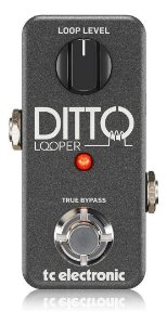 Pedal De Efeitos Tc Electronic Ditto Looper Mini