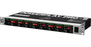 Amplificador Behringer Para 8 Fone Ha8000 Powerplay - Ha8000