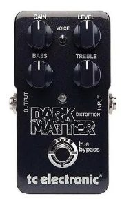 Pedal Tc Electronic DARK MATTER - PEDAL DISTORTION