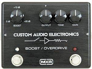 PEDAL MXR MC40 CUSTOM AUDIO ELECTRONICS BOOST/OVERDRIVE