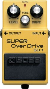 Pedal Boss Sd1 Guitarra Super Overdrive Sd-1
