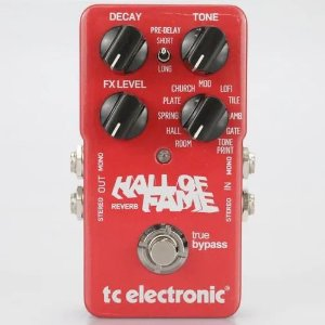 PEDAL TC ELECTRONIC HALL OF FAME REVERB