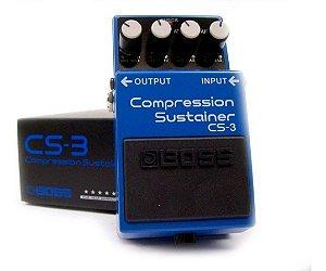 Pedal Boss Cs3 Compressor Sustainer Boss Cs-3