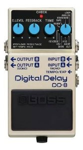 PEDAL BOSS DD8 GUITARRA DIGITAL DELAY