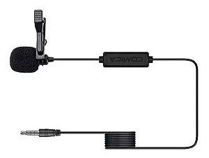 Microfone Lapela Comica Cvm-v01sp P/ Smartphones - cabo 4,50