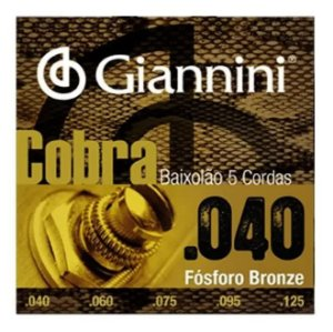 ENCORDOAMENTO P/ BAIXOLAO GIANNINI GEEBALF5 0.040/0.125