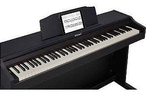Piano Digital Roland Rp102 Bk Preto 88 Teclas - Rp102 Preto
