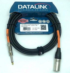 CABO DATALINK GARAGE p/ Microfone Desbalanceado 0,30 mm 5 m