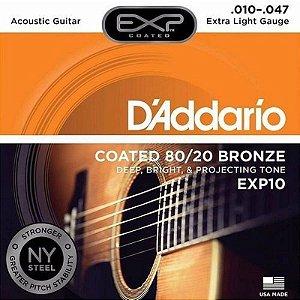 ENCORDOAMENTO DADDARIO VIOLAO AC EXP10 010