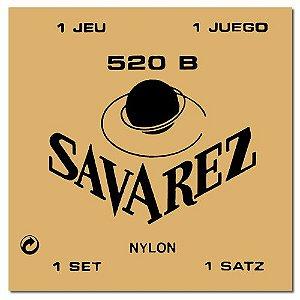 ENCORDOAMENTO SAVAREZ VIOLAO NYLON 520B LEVE TRAD