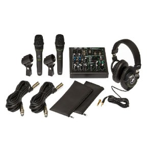 Kit Mackie Home Studio Interface Performer Bundle